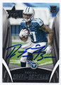 DORIAL GREEN-BECKHAM TENNESSEE TITANS AUTOGRAPHED ROOKIE FOOTBALL CARD #11617D