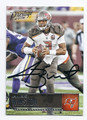 JAMEIS WINSTON TAMPA BAY BUCCANEERS AUTOGRAPHED FOOTBALL CARD #11717E