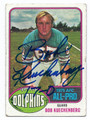 BOB KUECHENBERG MIAMI DOLPHINS AUTOGRAPHED VINTAGE FOOTBALL CARD #12517F