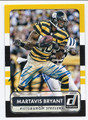 MARTAVIS BRYANT PITTSBURGH STEELERS AUTOGRAPHED FOOTBALL CARD #12917A