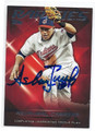 ASDRUBAL CABRERA CLEVELAND INDIANS AUTOGRAPHED BASEBALL CARD #13017D