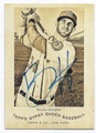 BRYCE HARPER WASHINGTON NATIONALS AUTOGRAPHED BASEBALL CARD #20417A