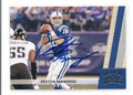 PEYTON MANNING INDIANAPOLIS COLTS AUTOGRAPHED FOOTBALL CARD #20417D