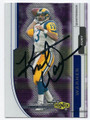 KURT WARNER ST LOUIS RAMS AUTOGRAPHED FOOTBALL CARD #31217A