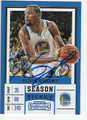 KEVIN DURANT GOLDEN STATE WARRIORS AUTOGRAPHED BASKETBALL CARD #20118A