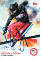 DEVIN LOGAN USA OLYMPIC FREESKIING AUTOGRAPHED CARD #120118A