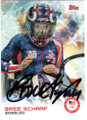 BREE SCHAAF UNITED STATES BOBSLED AUTOGRAPHED OLYMPICS CARD #120118D
