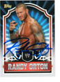RANDY ORTON AUTOGRAPHED WRESTLING CARD #120218H