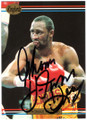 THOMAS HEARNS AUTOGRAPHED BOXING CARD #120318D