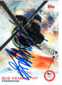 GUS KENWORTHY UNITED STATES OLYMPIC FREESKIER AUTOGRAPHED OLYMPICS CARD #120518C