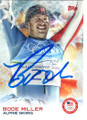BODE MILLER USA ALPINE SKIING AUTOGRAPHED OLYMPICS CARD #120718L