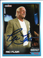 RIC FLAIR AUTOGRAPHED WRESTLING CARD #121718H