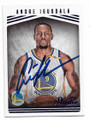 ANDRE IGUODALA GOLDEN STATE WARRIORS FORWARD AUTOGRAPHED BASKETBALL CARD #121818G