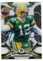 AARON RODGERS GREEN BAY PACKERS AUTOGRAPHED FOOTBALL CARD #122218A