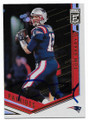 TOM BRADY NEW ENGLAND PATRIOTS AUTOGRAPHED FOOTBALL CARD #122218F