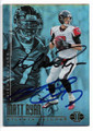 MATT RYAN & MICHAEL VICK ATLANTA FALCONS DOUBLE AUTOGRAPHED FOOTBALL CARD #122218H
