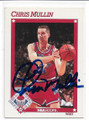 CHRIS MULLIN GOLDEN STATE WARRIORS AUTOGRAPHED ALL-STAR BASKETBALL CARD #123018B