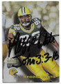 REGGIE WHITE GREEN BAY PACKERS AUTOGRAPHED FOOTBALL CARD #10119C