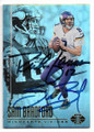 SAM BRADFORD & RICH GANNON MINNESOTA VIKINGS DOUBLE AUTOGRAPHED FOOTBALL CARD #10119E