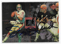 JOE MONTANA & KEN ANDERSON DOUBLE AUTOGRAPHED FOOTBALL CARD #10319B