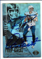 PHILIP RIVERS & DAN FOUTS LOS ANGELES CHARGERS DOUBLE AUTOGRAPHED FOOTBALL CARD #10319G