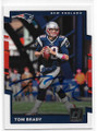 TOM BRADY NEW ENGLAND PATRIOTS AUTOGRAPHED FOOTBALL CARD #10319i