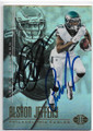ALSHON JEFFERY & DeSEAN JACKSON PHILADELPHIA EAGLES DOUBLE AUTOGRAPHED FOOTBALL CARD #10419D
