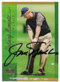 JACK NICKLAUS AUTOGRAPHED GOLF CARD #10419F
