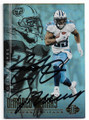 DeMARCO MURRAY & EDDIE GEORGE TENNESSEE TITANS DOUBLE AUTOGRAPHED FOOTBALL CARD #10419G
