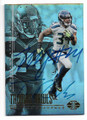 THOMAS RAWLS & MARSHAWN LYNCH SEATTLE SEAHAWKS DOUBLE AUTOGRAPHED FOOTBALL CARD #10419J