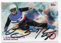 LEANNE SMITH ALPINE SKIING AUTOGRAPHED OLYMPICS CARD 10519A