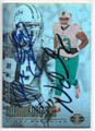 NDAMUKONG SUH & JASON TAYLOR MIAMI DOLPHINS DOUBLE AUTOGRAPHED FOOTBALL CARD #10519F