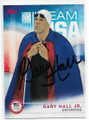 GARY HALL JR AUTOGRAPHED OLYMPIC SWIMMING CARD #10519G
