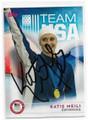 KATIE MEILI U.S. OLYMPIC SWIM TEAM AUTOGRAPHED OLYMPICS CARD #10519i