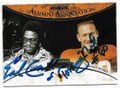 EARL CAMPBELL & TOMMY NOBIS UNIVERSITY OF TEXAS LONGHORNS AT AUSTIN DOUBLE AUTOGRAPHED FOOTBALL CARD #10619J