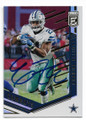 EZEKIEL ELLIOTT DALLAS COWBOYS AUTOGRAPHED FOOTBALL CARD #10919N