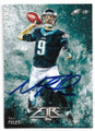 NICK FOLES PHILADELPHIA EAGLES AUTOGRAPHED FOOTBALL CARD #11019M