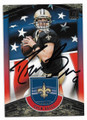 DREW BREES NEW ORLEANS SAINTS AUTOGRAPHED INSERT FOOTBALL CARD #11119C