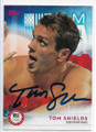 TOM SHIELDS UNITED STATES OLYMPIC SWIM TEAM AUTOGRAPHED OLYMPICS CARD #11119G