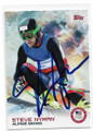 STEVE NYMAN OLYMPIC SKIING AUTOGRAPHED OLYMPICS CARD #11219A