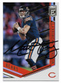 MITCH TRUBISKY CHICAGO BEARS AUTOGRAPHED FOOTBALL CARD #11219D