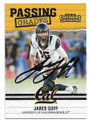 JARED GOFF CALIFORNIA GOLDEN BEARS AUTOGRAPHED FOOTBALL CARD #11219i