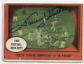 JOHNNY UNITAS BALTIMORE COLTS AUTOGRAPHED VINTAGE FOOTBALL CARD #11219M