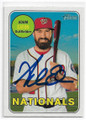 ADAM EATON WASHINGTON NATIONALS AUTOGRAPHED BASEBALL CARD #11219N