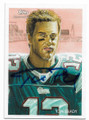 TOM BRADY NEW ENGLAND PATRIOTS AUTOGRAPHED FOOTBALL CARD #11319A