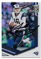 JARED GOFF LOS ANGELES RAMS AUTOGRAPHED FOOTBALL CARD #11419H