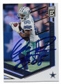 DEZ BRYANT DALLAS COWBOYS AUTOGRAPHED FOOTBALL CARD #11519H