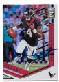 DESHAUN WATSON HOUSTON TEXANS AUTOGRAPHED FOOTBALL CARD #11519J