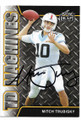 MITCH TRUBISKY NORTH CAROLINA TAR HEELS AUTOGRAPHED ROOKIE FOOTBALL CARD #11619E