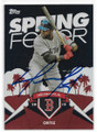DAVID ORTIZ BOSTON RED SOX AUTOGRAPHED BASEBALL CARD #11619i